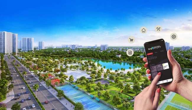 Vinhome Smart City hệ thống tiện ích thông minh