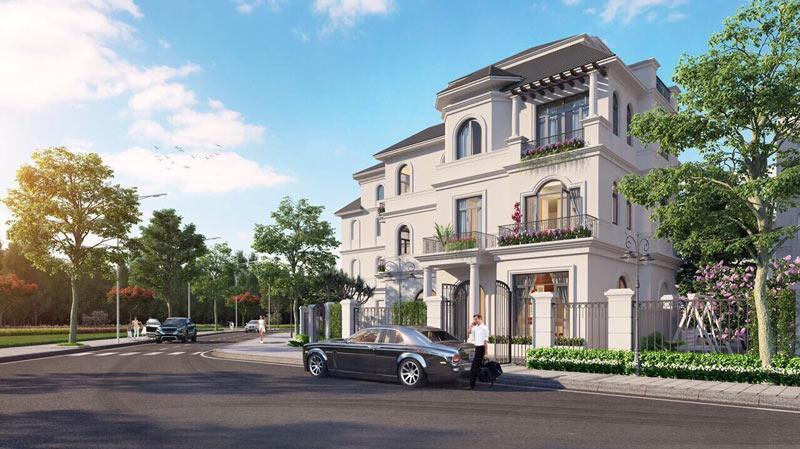 Biệt thự Vinhome Green Villas