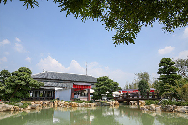 Vườn Nhật Bản với quy mô hàng đầu Đông Nam Á