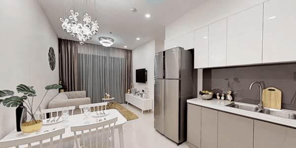 Hình ảnh nhà mẫu Vinhomes Smart City căn 2 ngủ