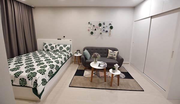 Nhà mẫu căn hộ 1 phòng ngủ tại Vinhomes Smart City