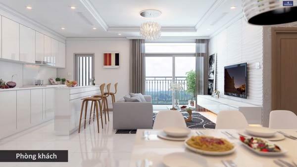 Phòng khách Vinhomes Smart City Tây Mỗ