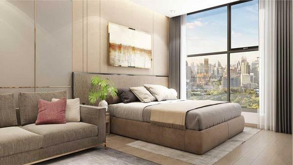 Phòng ngủ Vinhomes Smart City Tây Mỗ Đại Mỗ