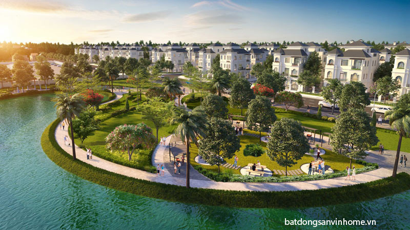 Biệt thự Vinhomes Green Villas căn mặt hồ