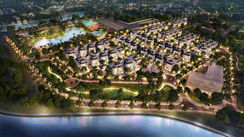 Hình ảnh trực quan biệt thự Vinhomes Smart City