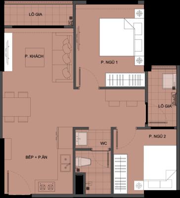 Mặt bằng chi tiết căn hộ S3.030817