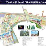 Mặt bằng tổng thể dự án imperia Smart City