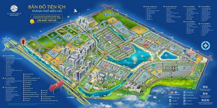 Bản đồ tiện ích Vinhomes Ocean Park Gia Lâm