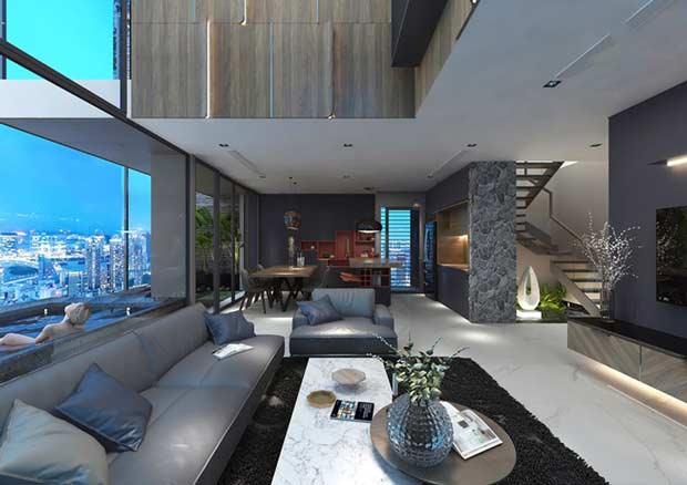 Lịch sử ra đời của loại hình căn hộ Sky Villa