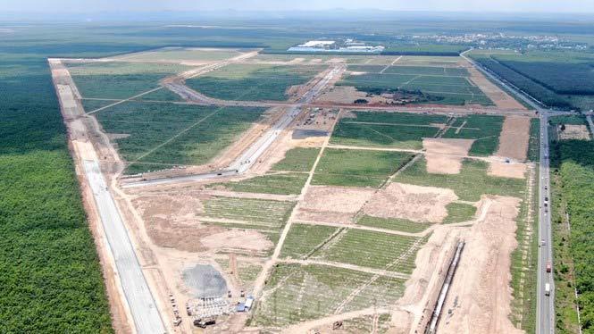 Diện tích của đất tái định cư
