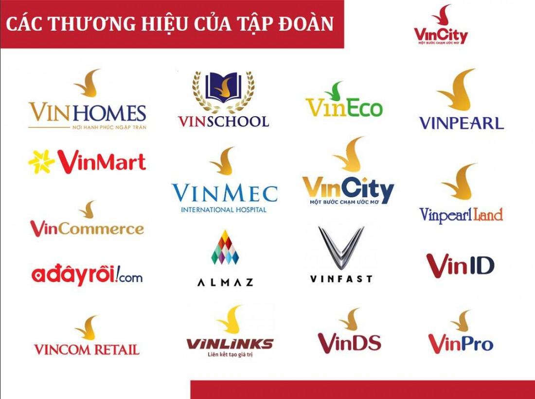 Các thương hiệu khác của Vingroup triển khai