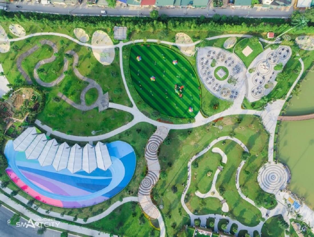 """Công viên trung tâm Central Park – """"lá phổi xanh"""" của cả khu vực phía Tây Hà Nội"""