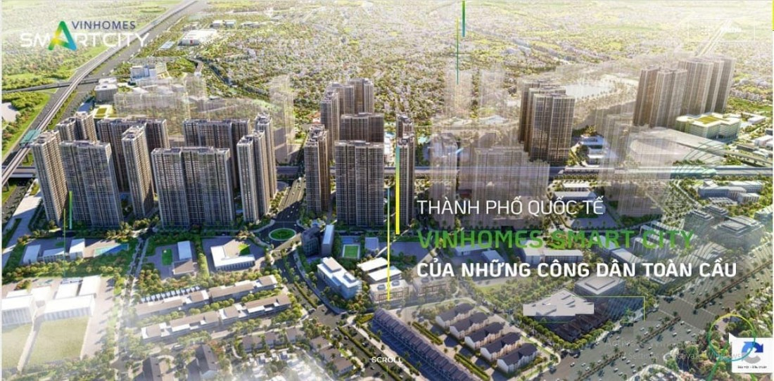 Dự án Vinhomes Smart City – Thành phố quốc tế đầu tiên tại Việt Nam