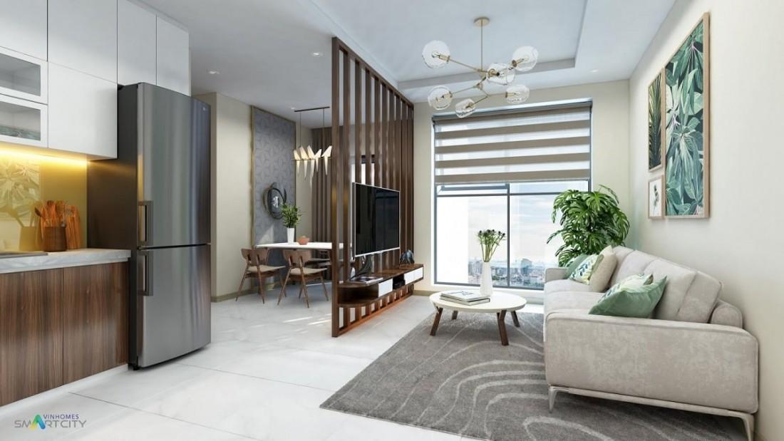 Giá bán căn hộ Vin Smart City vừa phải