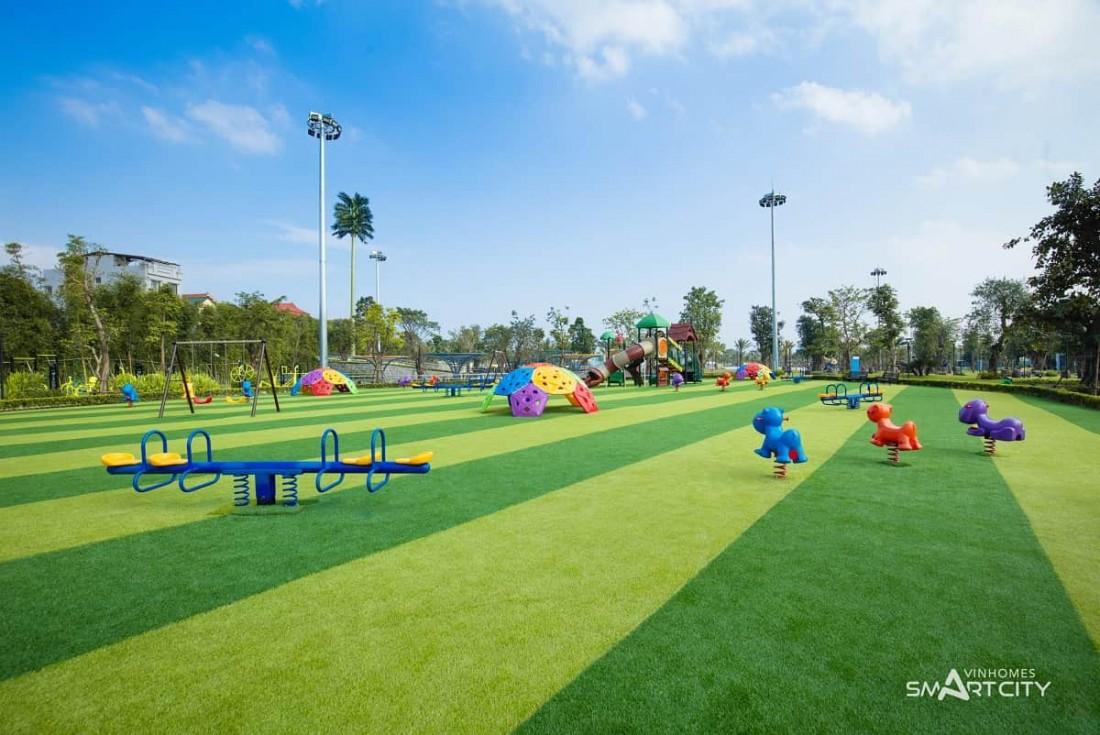 Khu công viên thiết kế xây dựng đậm chất trẻ thơ