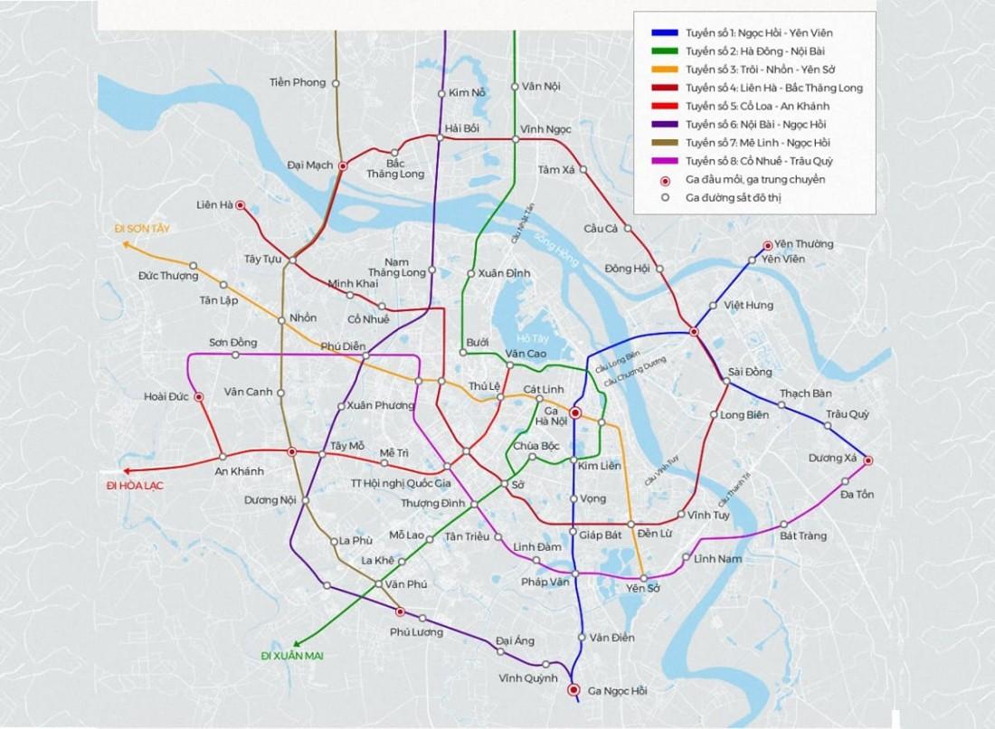 Nhiều dự án quy hoạch hạ tầng giao thông đồng bộ tại phía Tây Hà Nội
