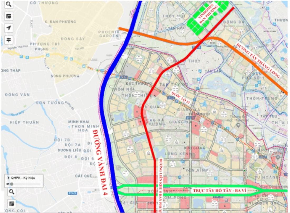Tuyến giao thông đường liên khu 8