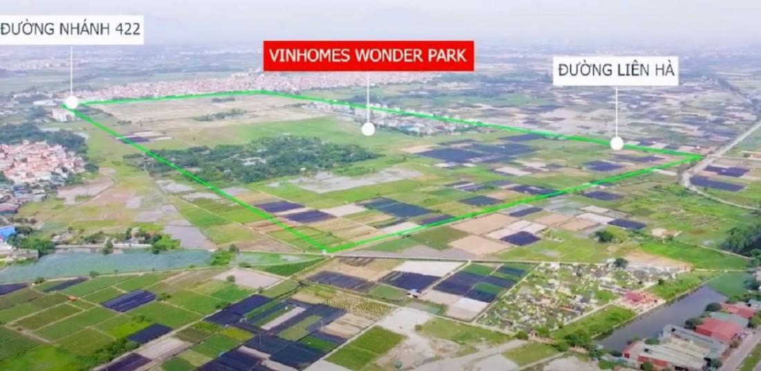 Vinhomes Đan Phượng được bao quanh bởi hạ tầng giao thông hoàn thiện