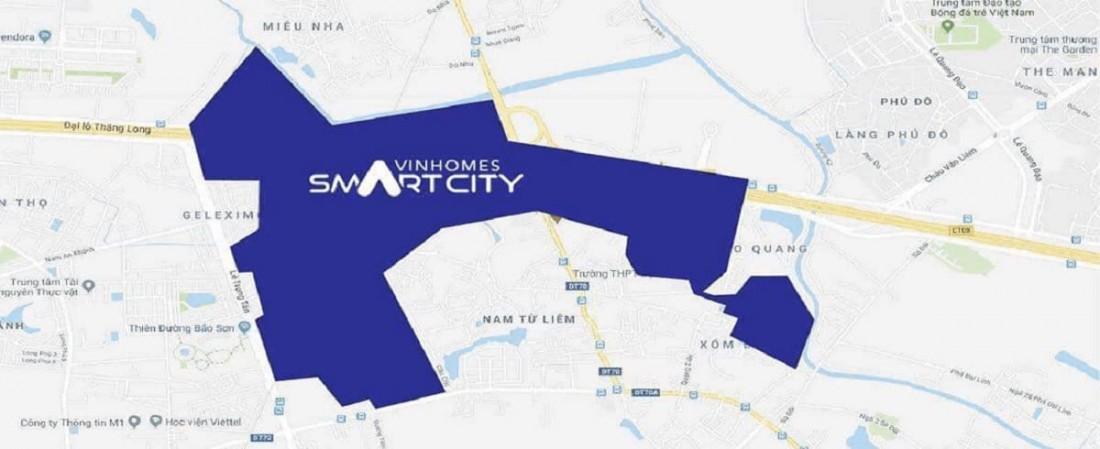 Vinhomes Smart City sở hữu view sông đắt giá